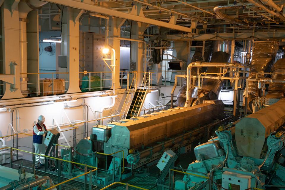 Arctic tanker Christophe de Margerie