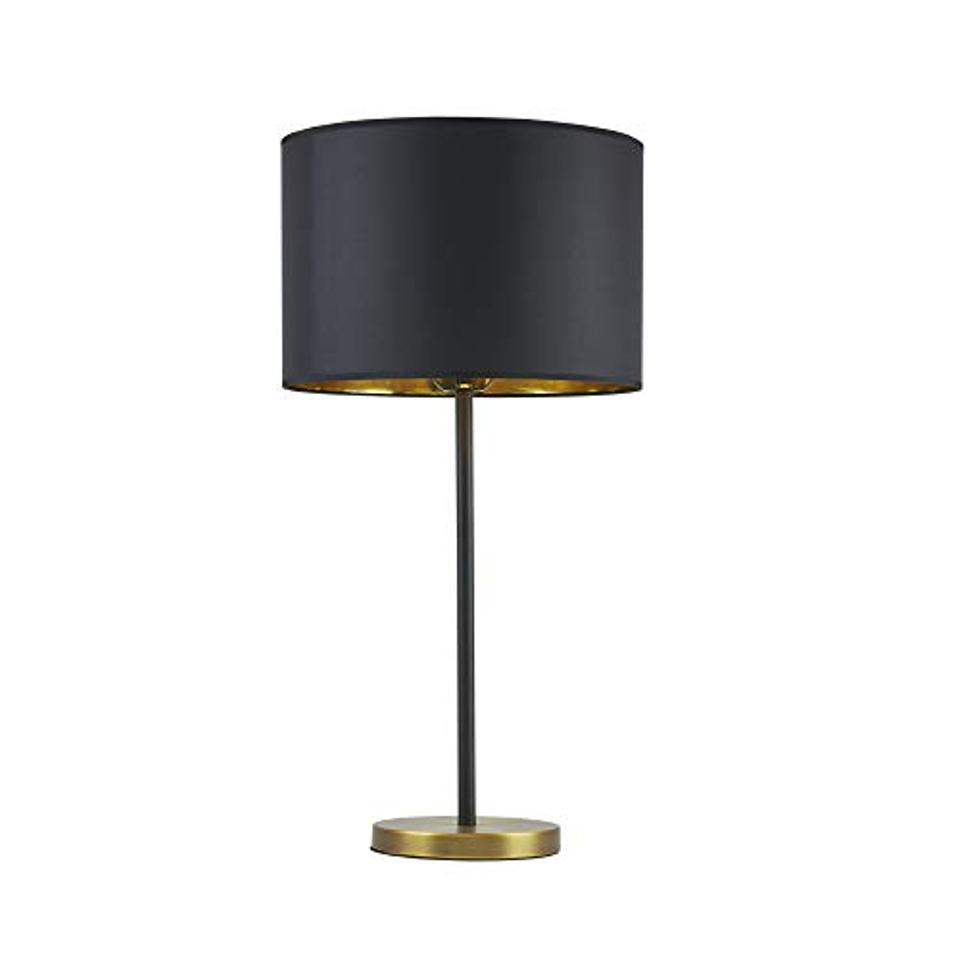 MARTHA STEWART Hunts Table Lamp Living Room Decor, Gold/Black, 15″Wx15″Dx29.5″H