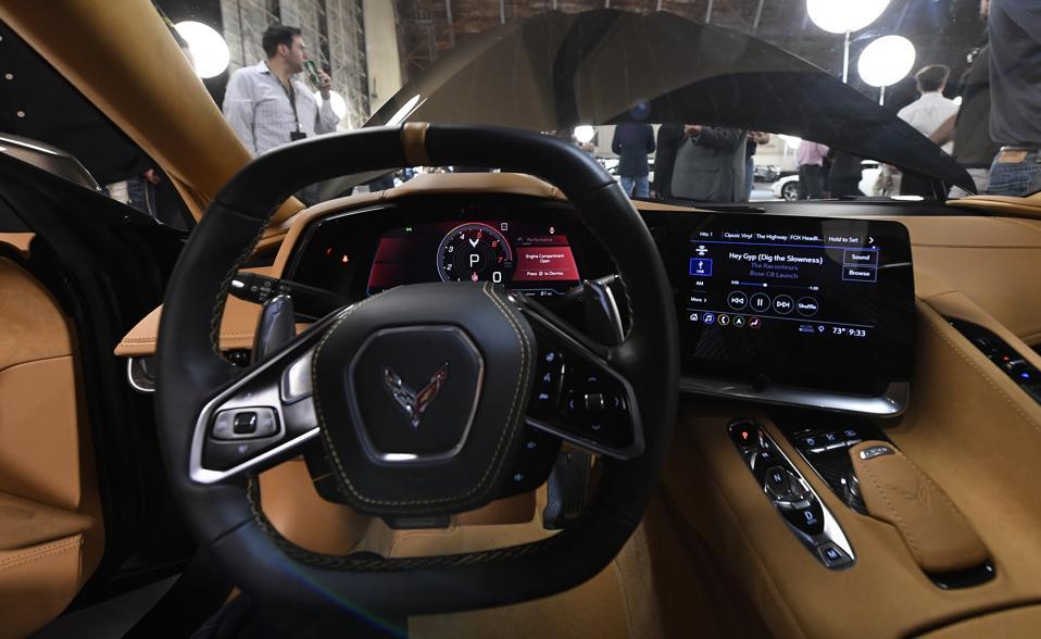 General Motors Unveils Its New Corvette In California