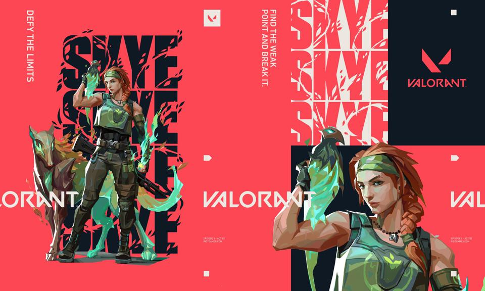 Valorant agent Skye.