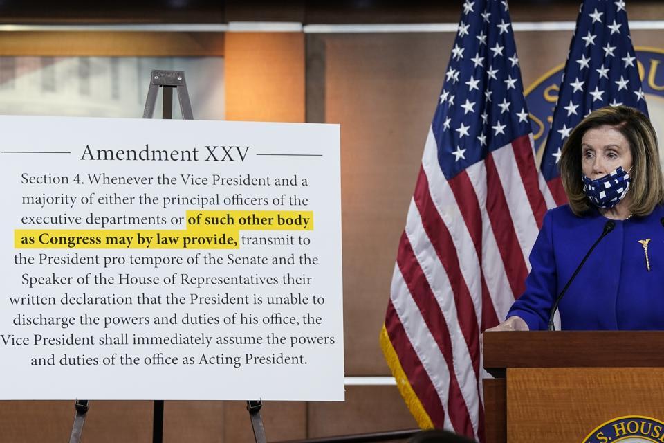 Speaker Pelosi And Rep. Raskin Introduce Legislation To Establish Commission On Presidential Capacity