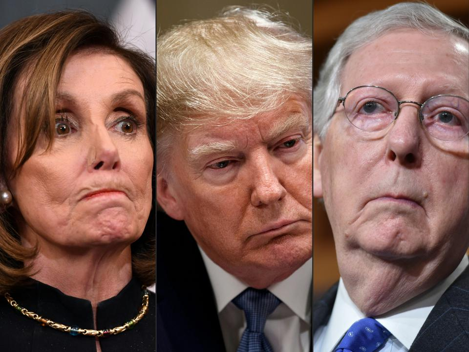 Stimulus checks, Nancy Pelosi, Donald Trump, Mitch McConnell, employers, employees, Heroes