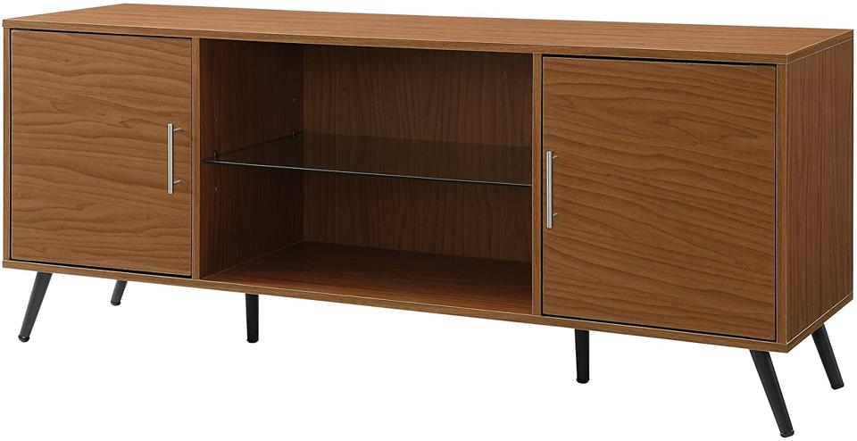 Walker Edison Furniture Company Midcentury-Modern Wood Media Cabinet