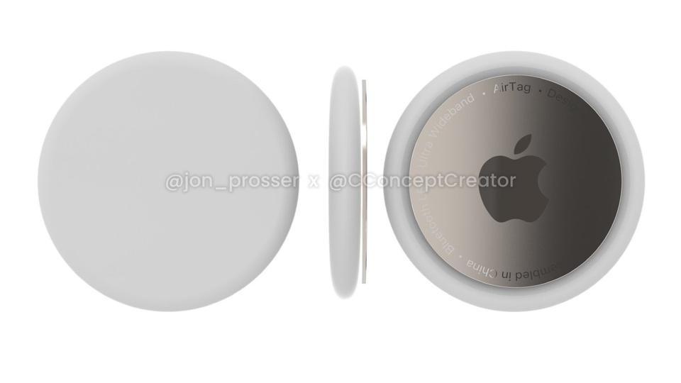 Apple AirTags, it's claimed.