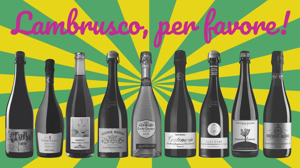 Lambrusco from Italy is a delicious and versatile wine for fall