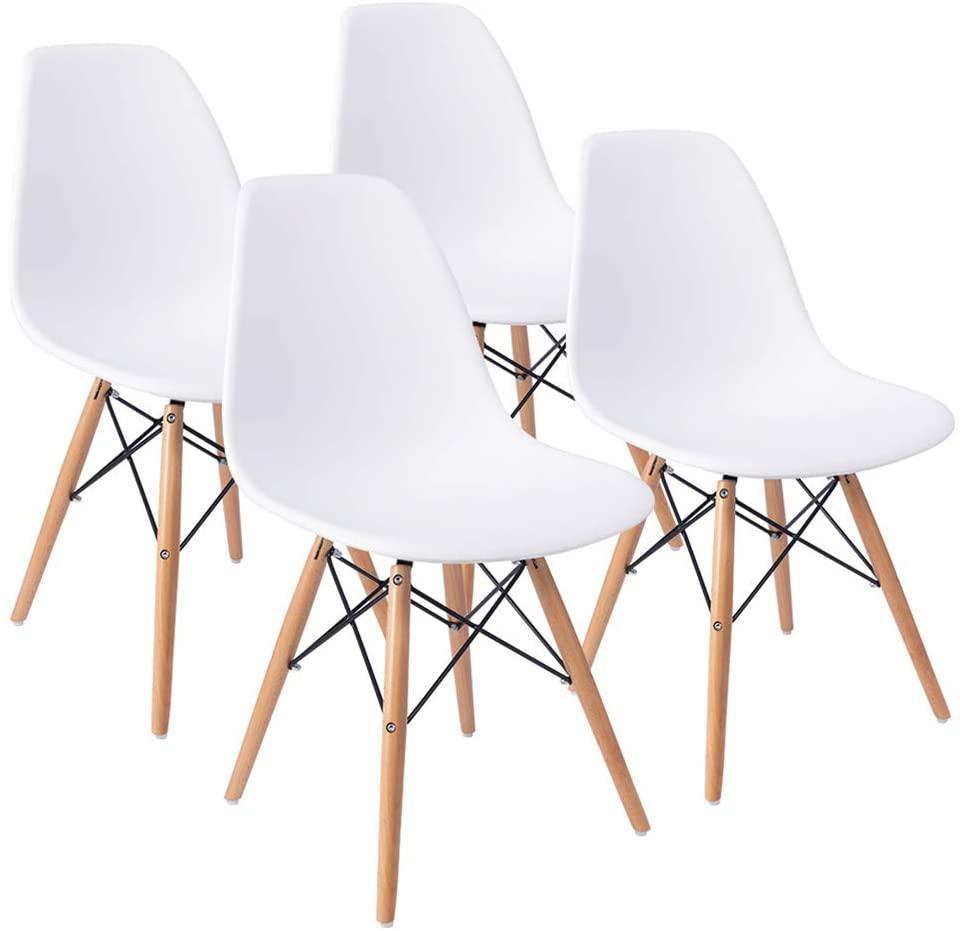 Furmax Midcentury-Modern Chair (Set of 4)