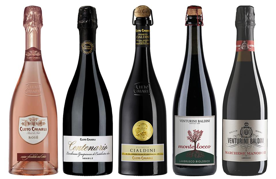 Lambrusco from Italy is a diverse wine that goes with casual foods or delicious drunk on its own