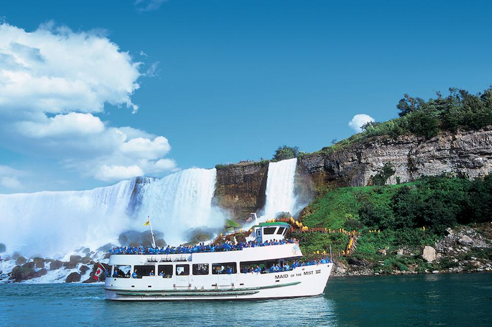 The Maid of the Mist first sailed amidst the Niagara Falls in 1846.
