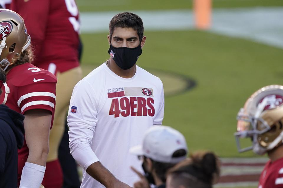 Jimmy Garoppolo returns from ankle injury