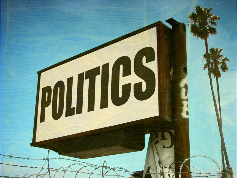 Politics sign