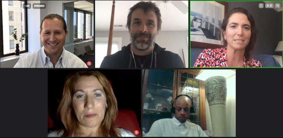 U.S.-Italia Education Innovation Festival - Virtual Panel Screenshot