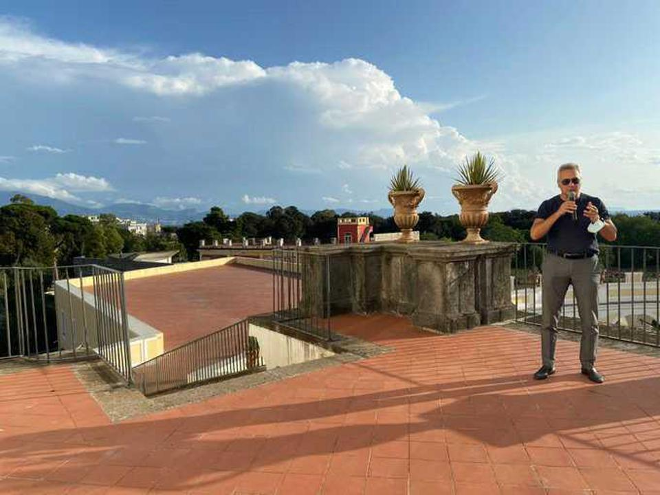 Marco Cappellini virtual session at U.S.-Italia Festival