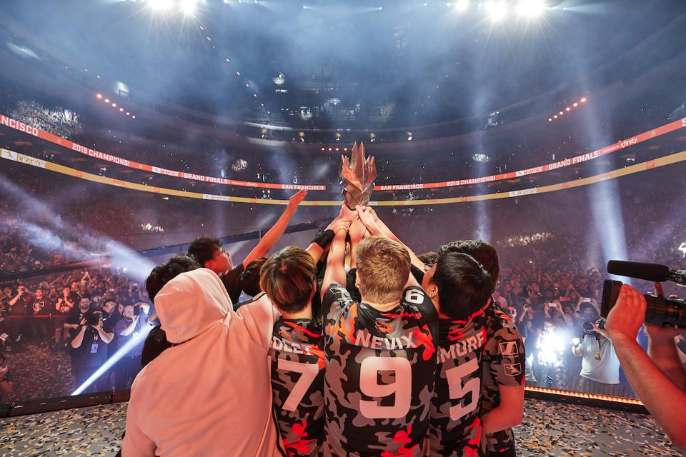 Overwatch League Grand Finals champions San Francisco Shock