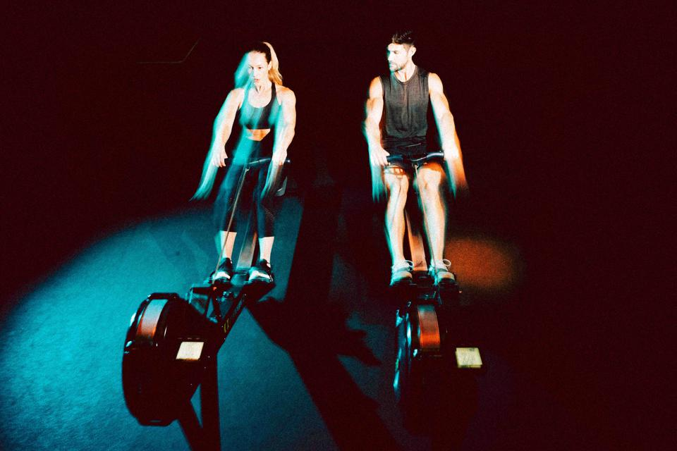 Rowing at Core Collective