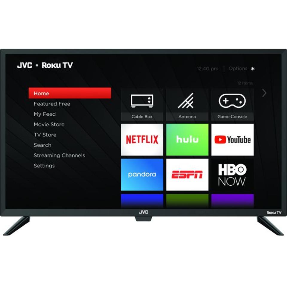 JVC 32″ Class HD (720p) Roku Smart LED TV