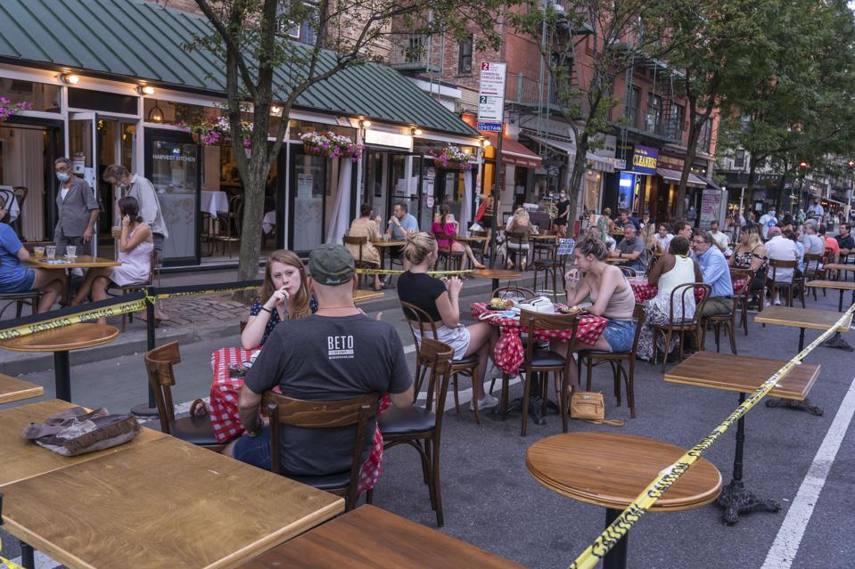 Harvest Kitchen restaurant has extended its outdoor area by...
