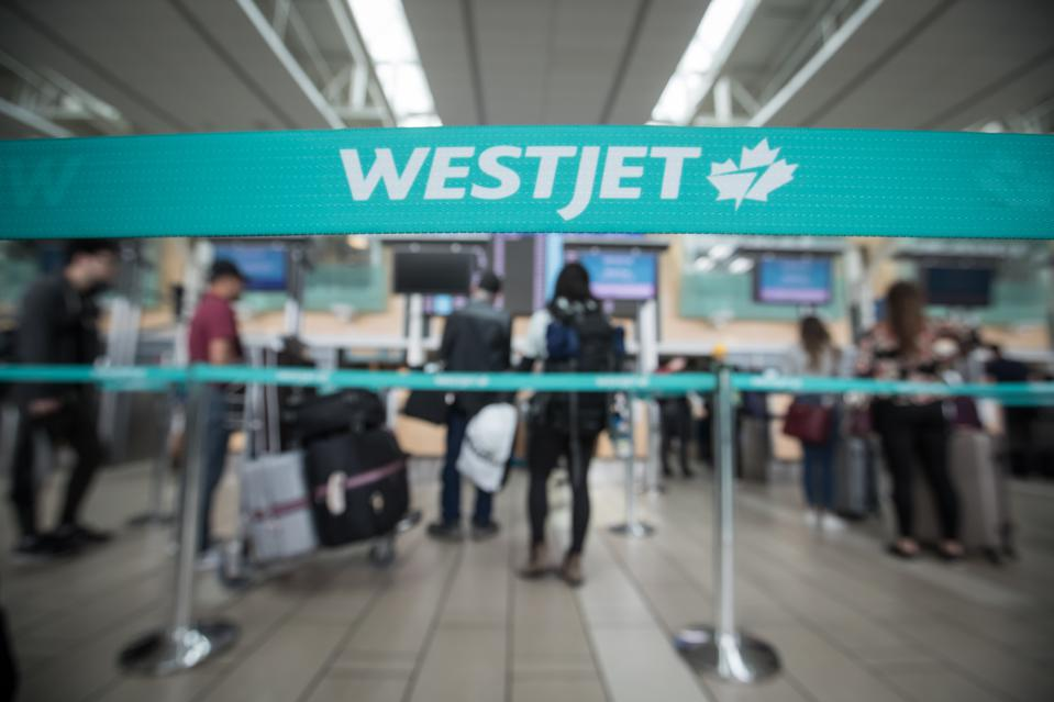 CANADA WESTJET Canadian airline WestJet is now offering free COVID-19 travel insurance