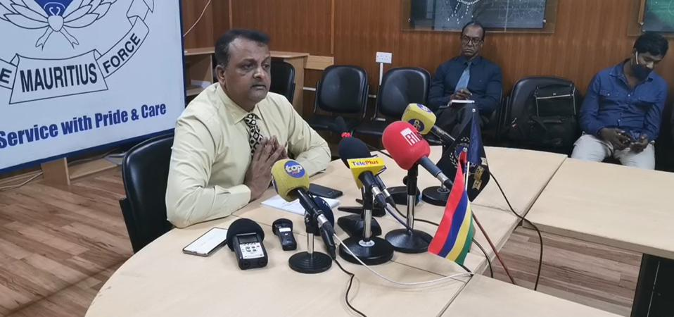 7 October 2020 Press Conference by Mauritius Police Force