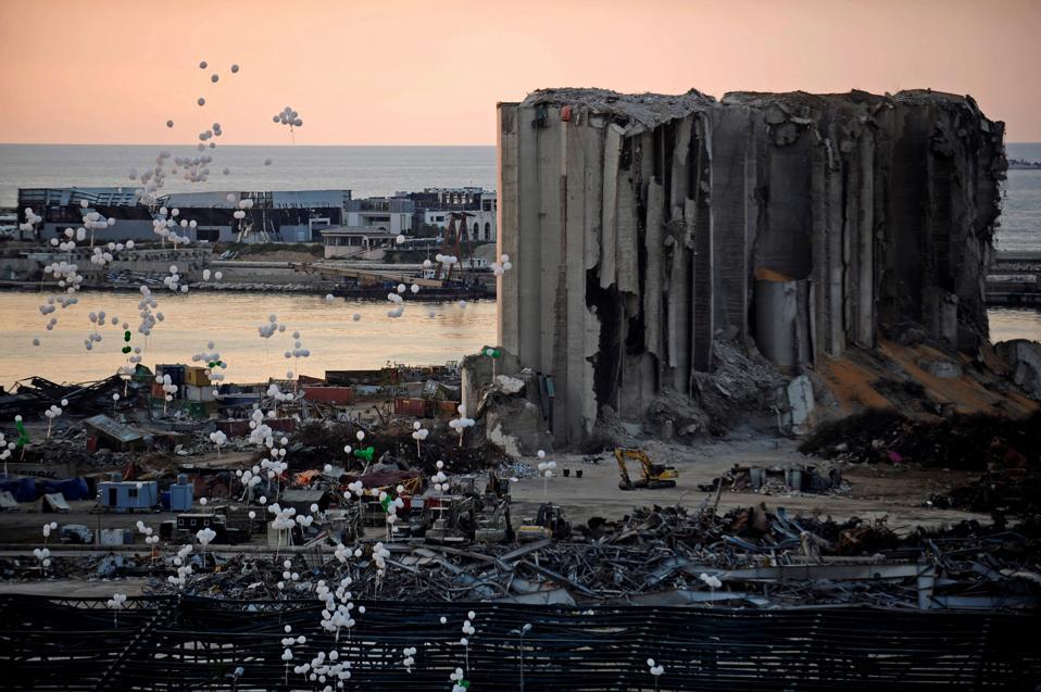 LEBANON-BEIRUT-EXPLOSION-COMMEMORATION