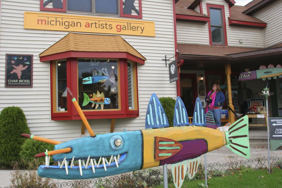 Michigan Artists Gallery best fall foliage