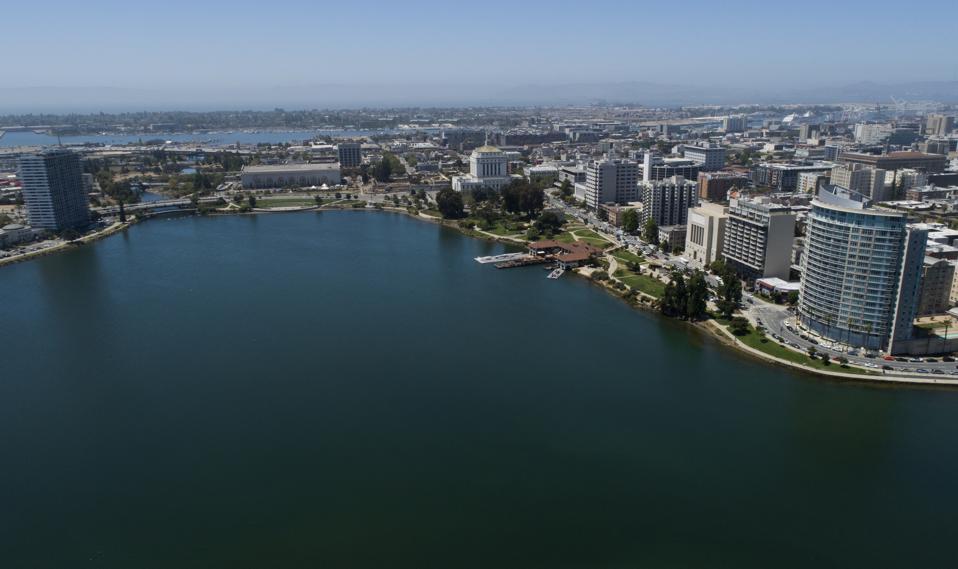 Lake Merritt Drone Views
