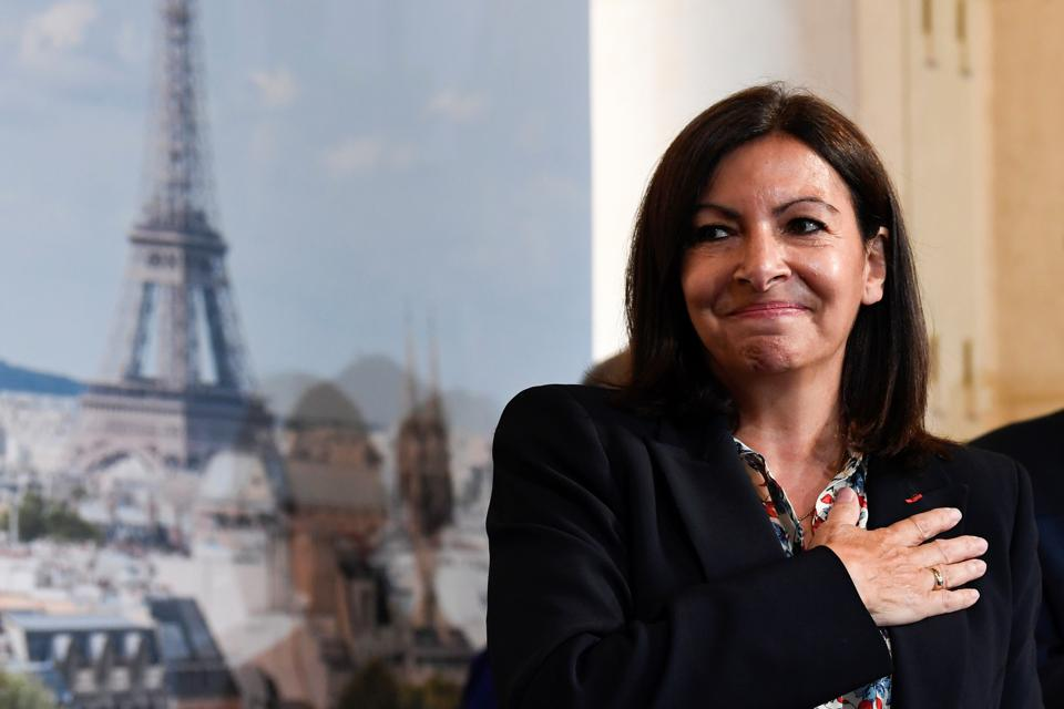 FRANCE-POLITICS-MAYOR-ELECTION-VOTE-PARIS