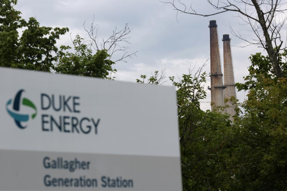 A Duke Energy Corp. Coal Fired Power Plant