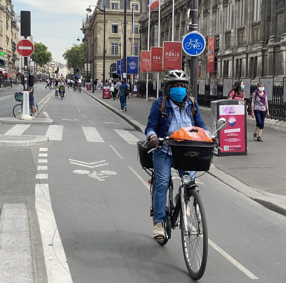 Cycleway Paris