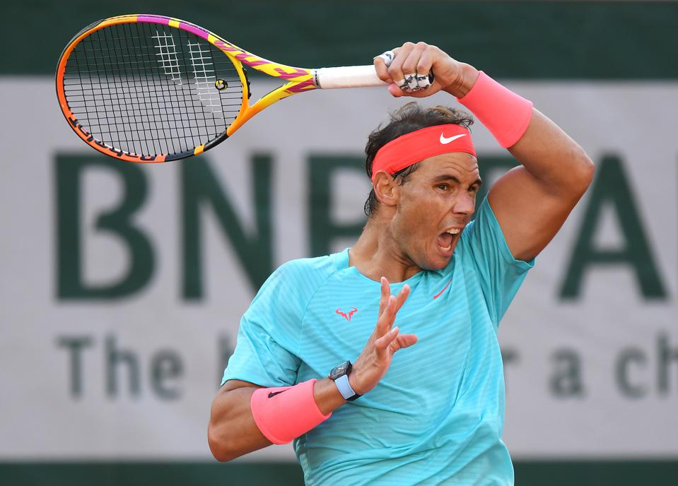 Rafael Nadal Wears Million Richard Mille Watch While Playing French Open