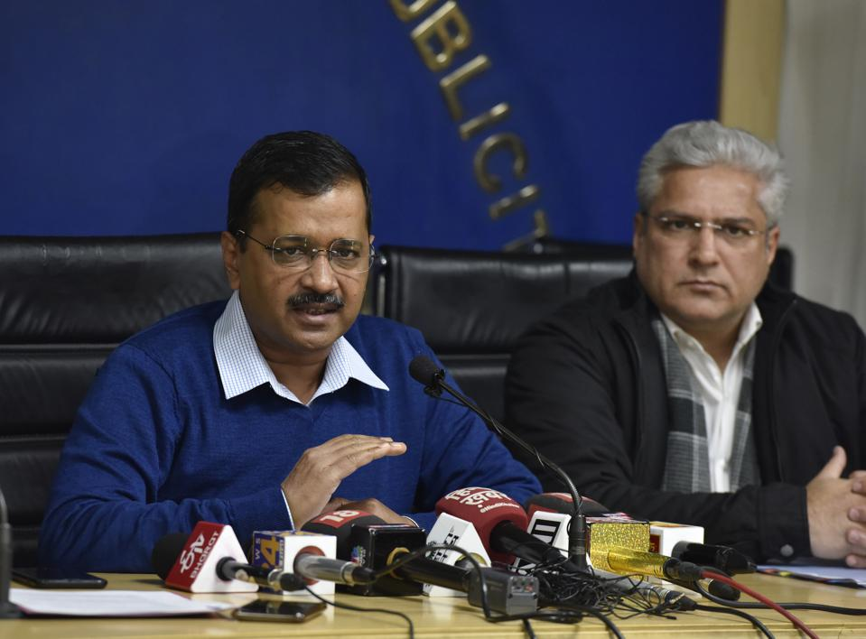 Delhi Chief Minister Arvind Kejriwal Press Conference On Electric Vehicle Policy