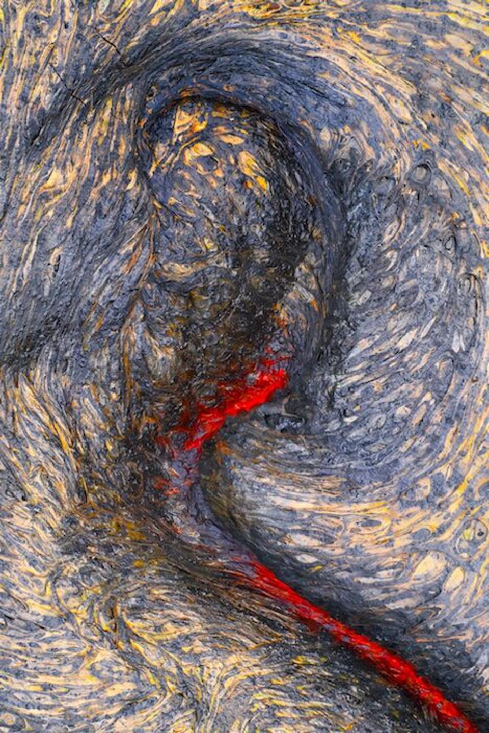 Close-Up Photographer of the Year, lava field in Hawaii