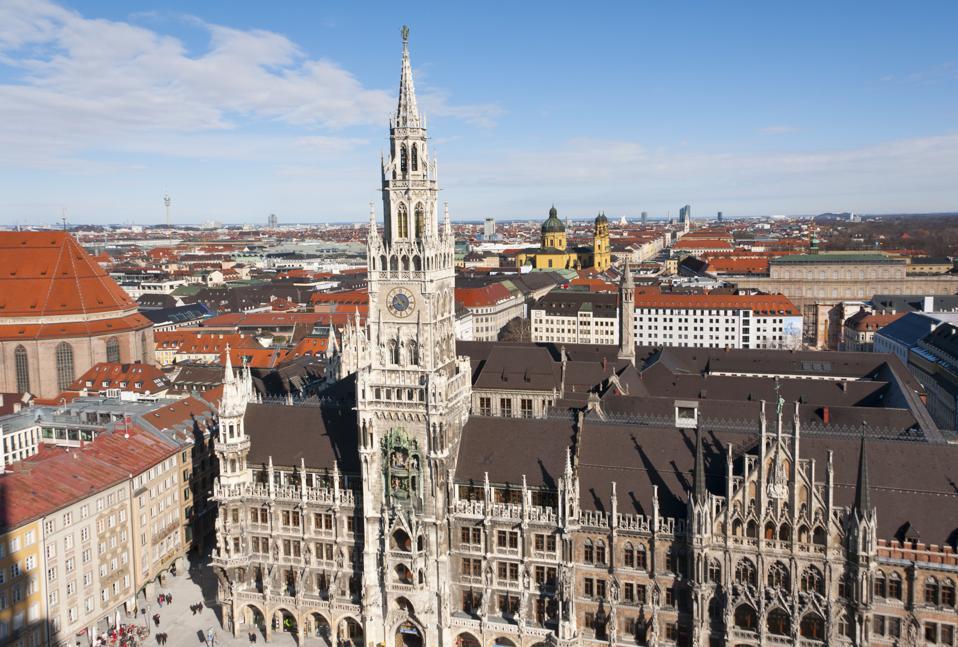 The New Town Hall, Marienplatz, Munich, Germany