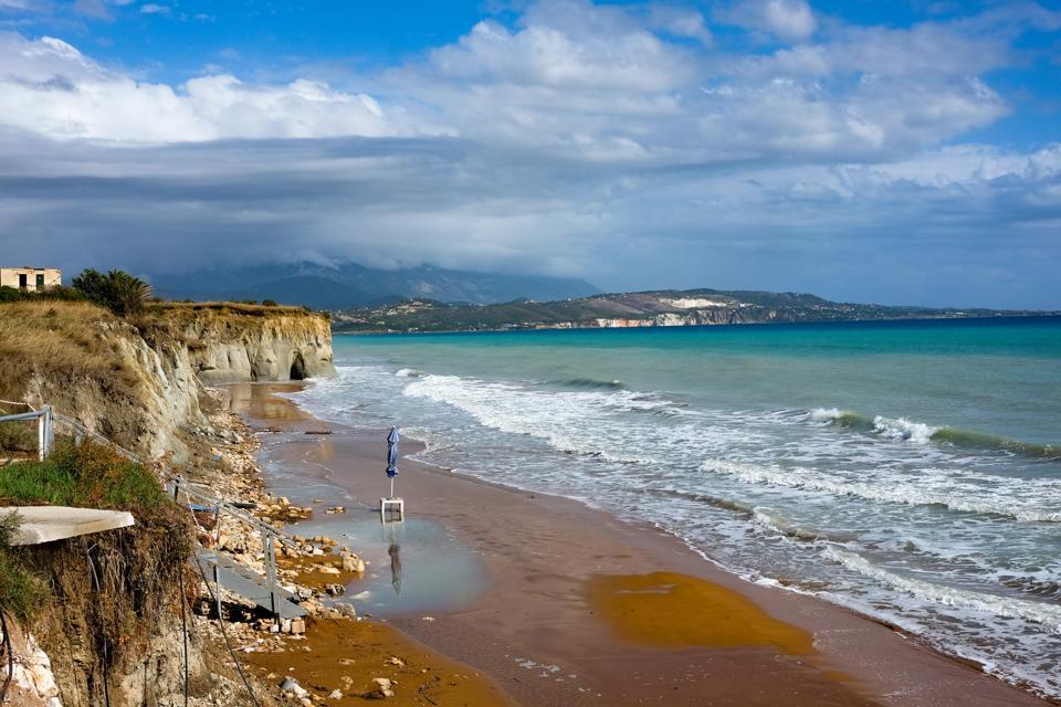 Island Kefalonia in the Ionian Sea