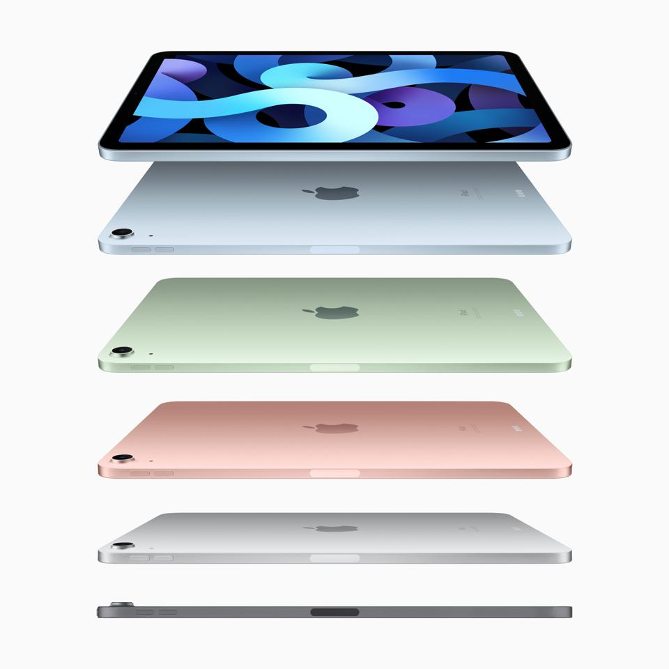 Apple iPad Air 2020 - the full range of colors.
