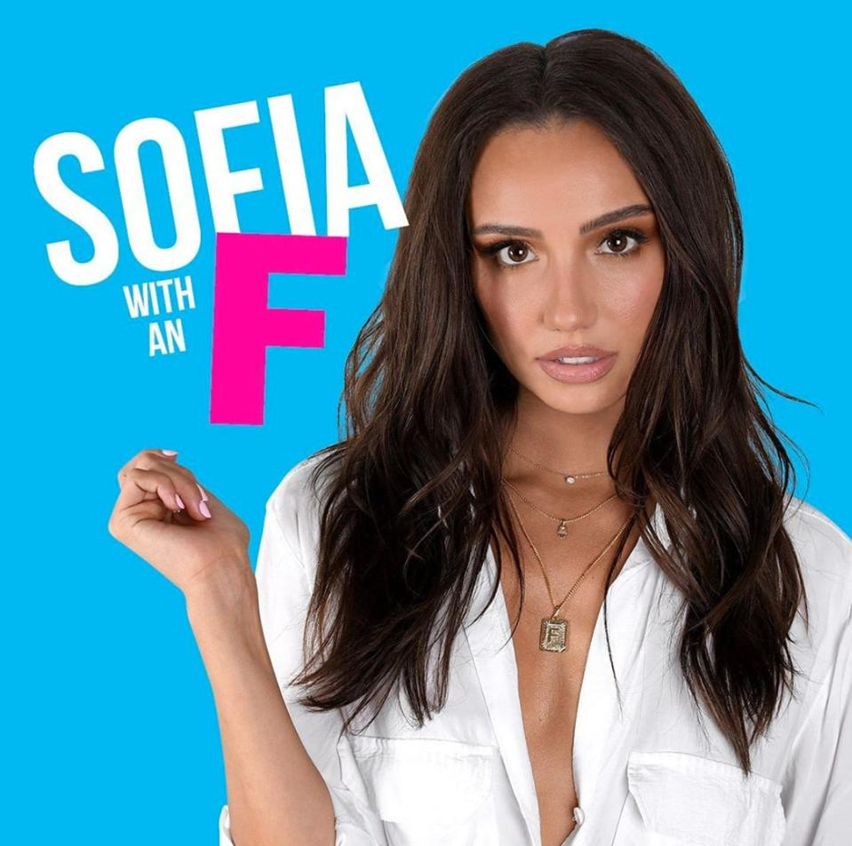 Podcast host Sofia Franklyn