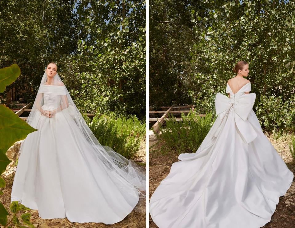 Lebanese designer Elie Saab, unveils his Bridal 2021 collection