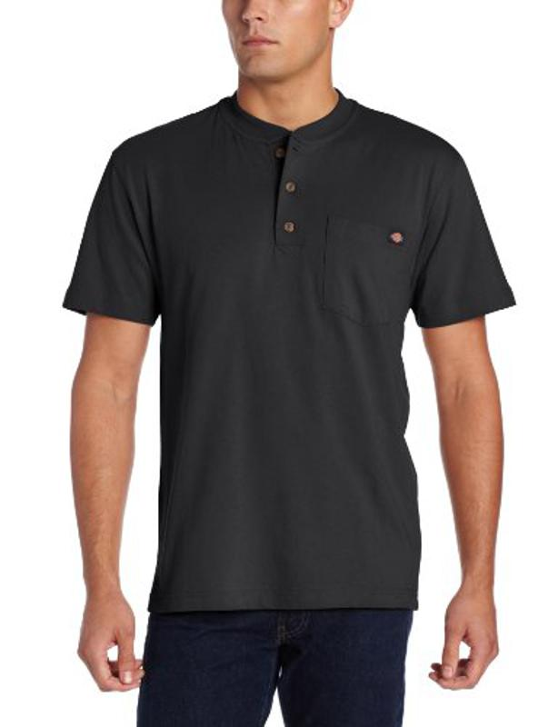 Amazon prime Day Dickies Men's Heavyweight Henley