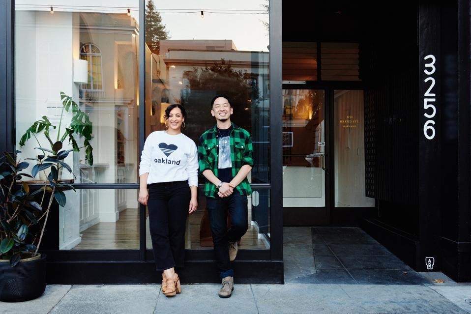 Jessica and Kori, the co founders of Alkali Rye