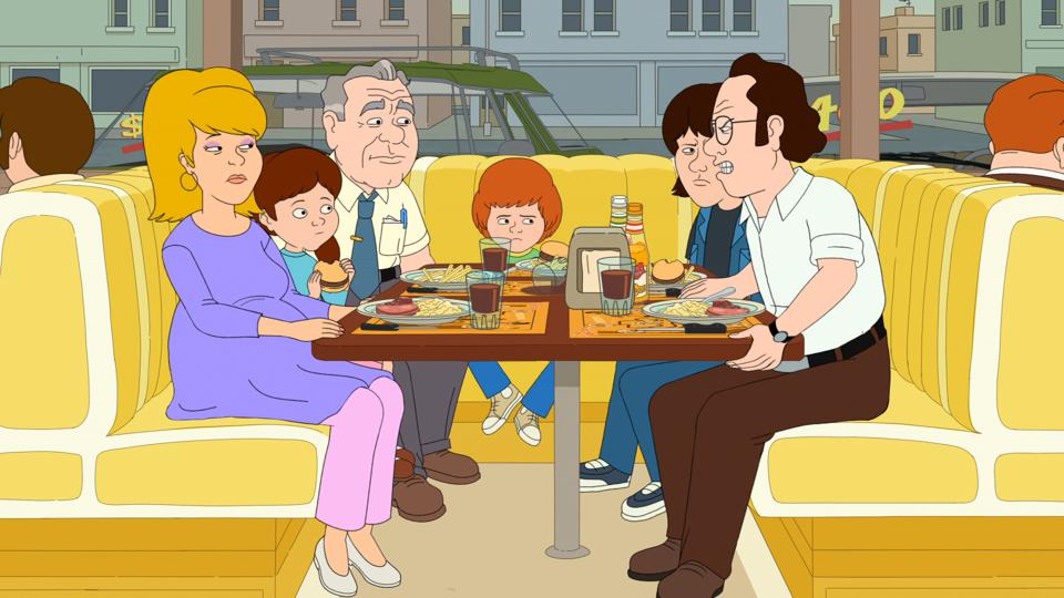 A still from Netflix's F is For Family