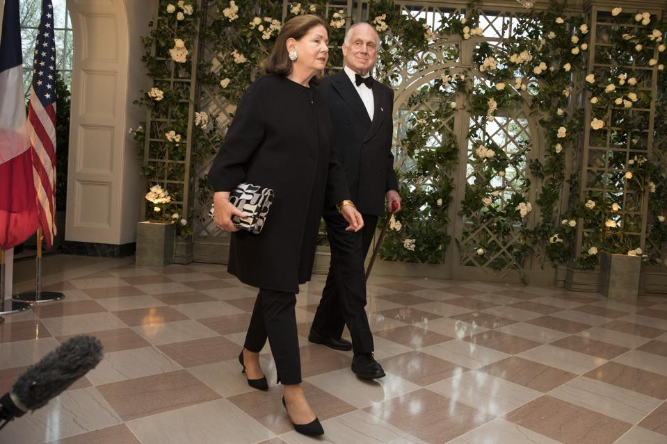 Ronald Lauder and his wife Jo Carole