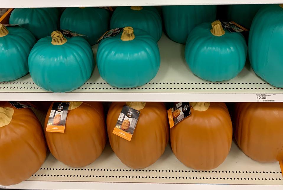 Teal pumpkins at Target stores