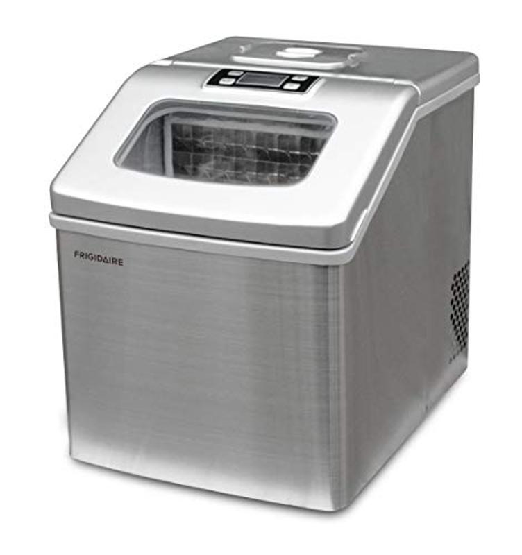 Frigidaire 40-Pound Extra Large Stainless Steel Ice Maker