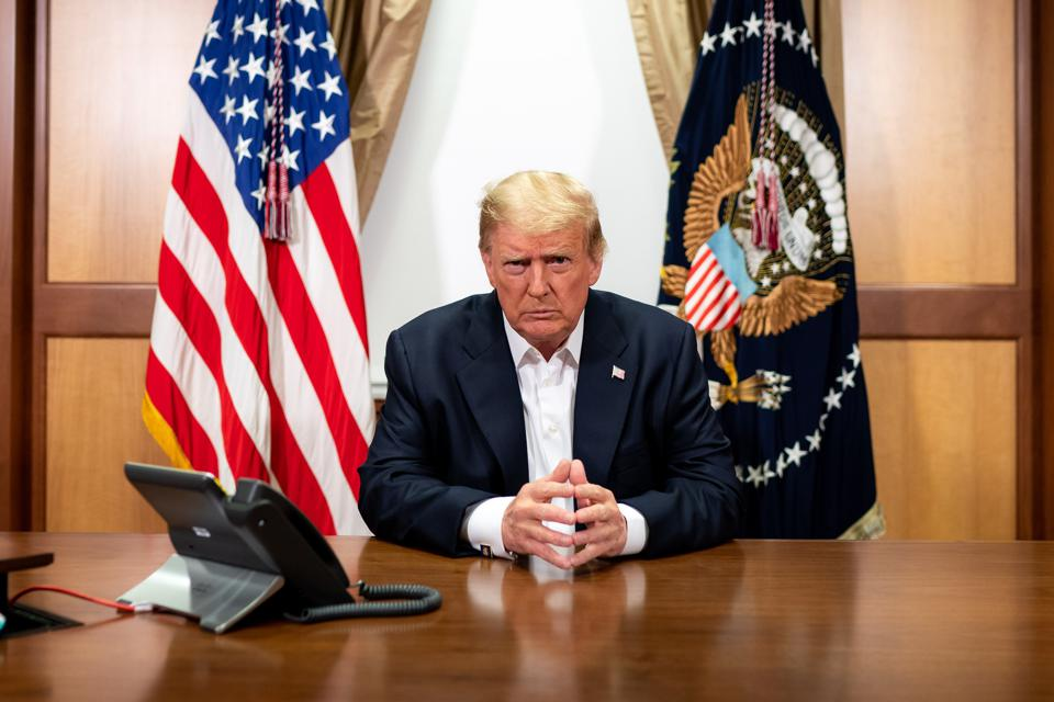 President Trump Tests Positive For Coronavirus