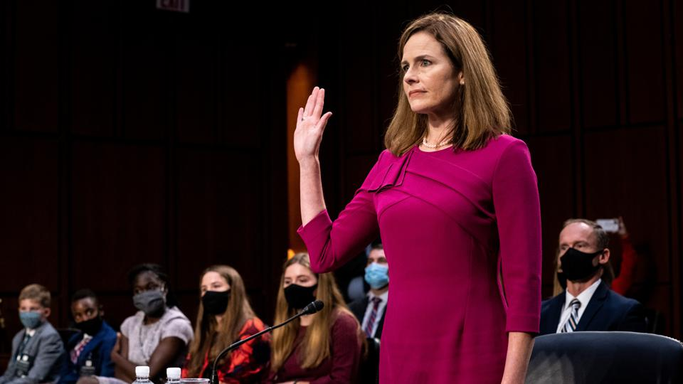 Senate Holds Confirmation Hearing For Amy Coney Barrett To Be Supreme Court Justice