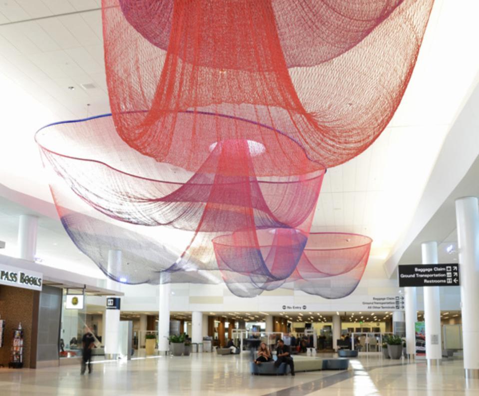 Terminal two at San Francisco International Airport