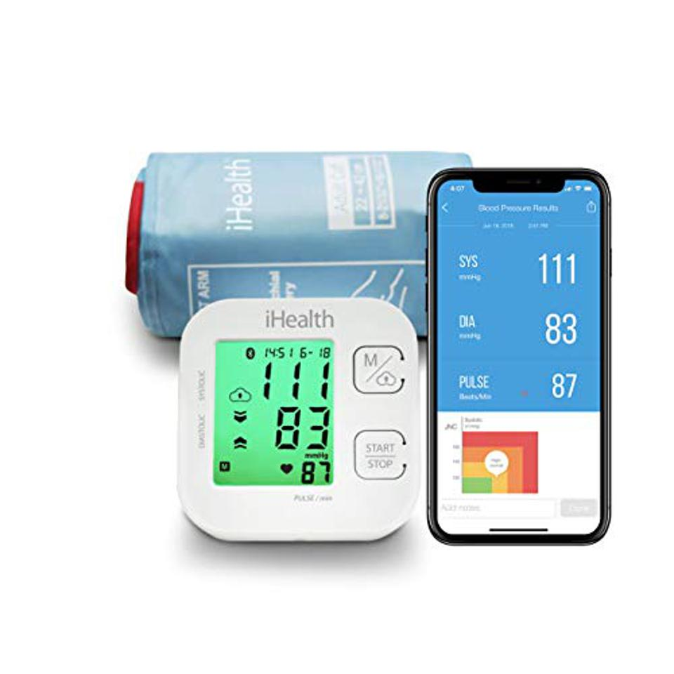 iHealth Track Wireless Upper Arm Blood Pressure Monitor is $10 off for Prime Day.