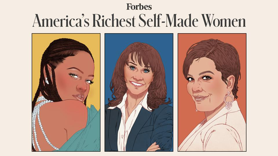 America's Richest Self-Made Women