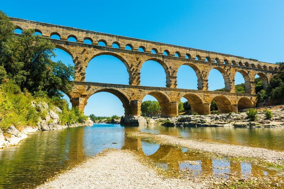 The Pont du Gard in southern France