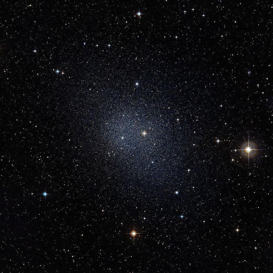 Dwarf galaxies often have a much greater than 5-to-1 dark matter to normal matter ratio.