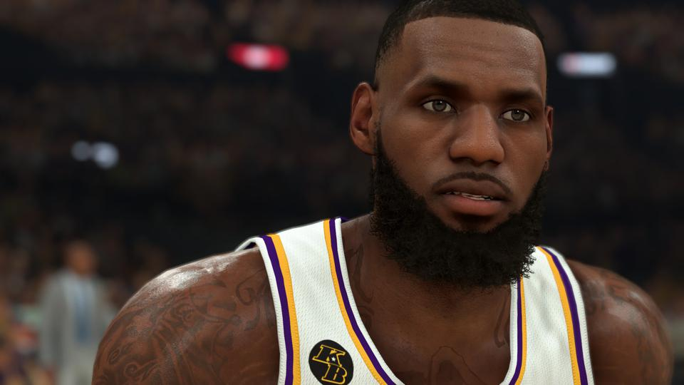 LeBron James NBA 2K21 PC Mod